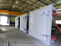 Custom Designed Products -Blast Proof Doors - Pneumatic
